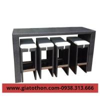 bàn ghế nhựa quầy bar tphcm giá rẻ