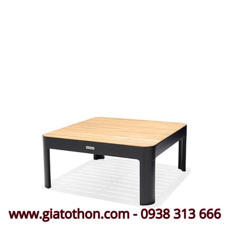 bàn cafe gỗ bệt