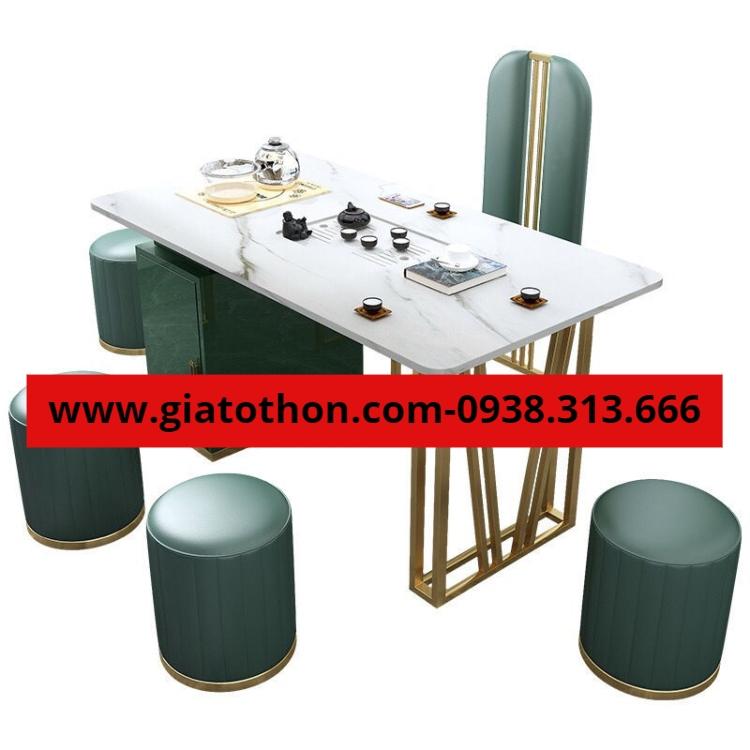 bàn ghế khung sắt sơn tĩnh điện