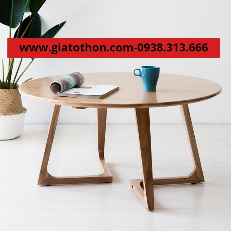 bàn gỗ cafe bệt tpchm