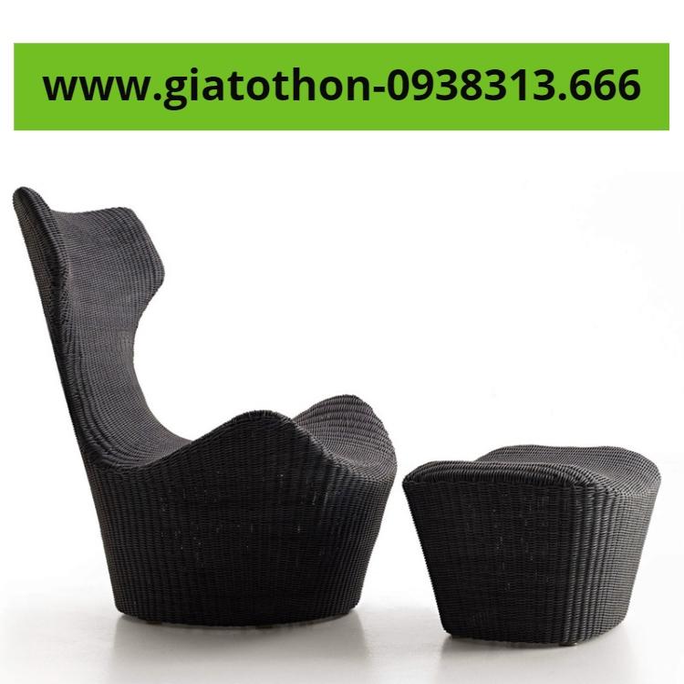 mẫu bàn ghế nhựa mây giá rẻ